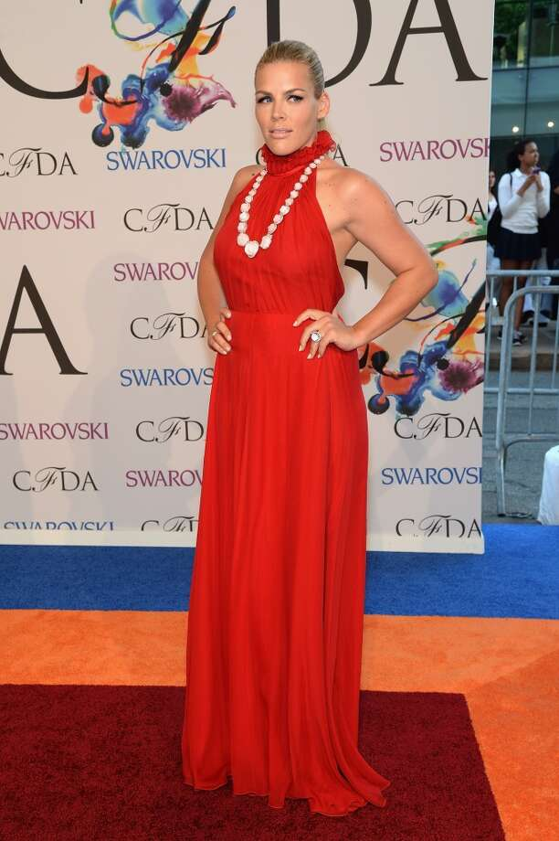 Actress Busy Philipps attends the 2014 CFDA fashion awards at Alice Tully Hall, Lincoln Center on June 2, 2014 in New York City. Photo: Jamie McCarthy, WireImage