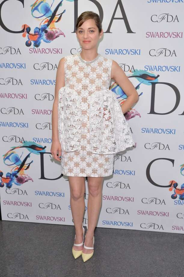 Actress Marion Cotillard attends the winners walk during the 2014 CFDA fashion awards at Alice Tully Hall, Lincoln Center on June 2, 2014 in New York City. Photo: Andrew H. Walker, WireImage