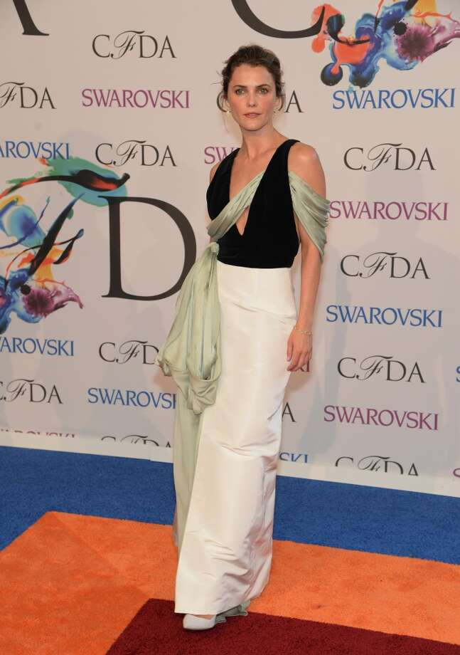 Actress Keri Russell attends the 2014 CFDA fashion awards at Alice Tully Hall, Lincoln Center on June 2, 2014 in New York City. Photo: Jamie McCarthy, WireImage