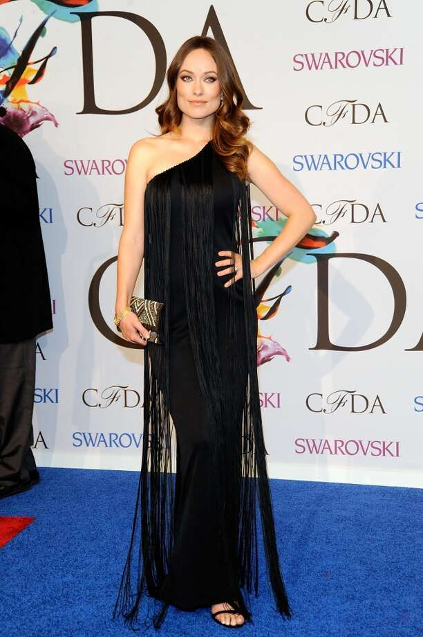 Oliva Wilde attends the 2014 CFDA fashion awards at Alice Tully Hall, Lincoln Center on June 2, 2014 in New York City. Photo: Rabbani And Solimene Photography, WireImage