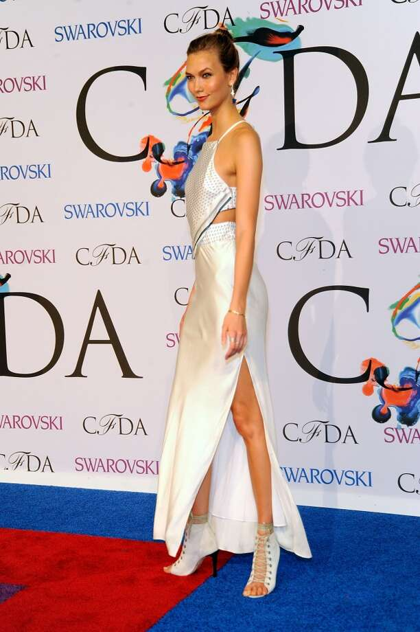 Karlie Kloss attends the 2014 CFDA fashion awards at Alice Tully Hall, Lincoln Center on June 2, 2014 in New York City. Photo: Rabbani And Solimene Photography, WireImage