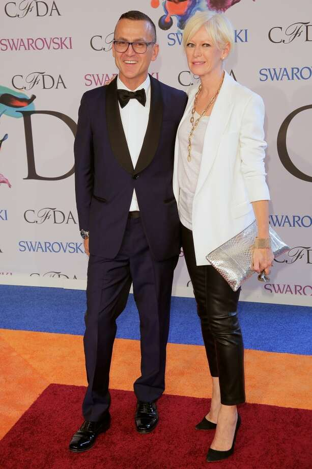 CFDA CEO Steven Kolb and Editor-in-Chief at Cosmopolitan Magazine Joanna Coles attend at Alice Tully Hall, Lincoln Center on June 2, 2014 in New York City. Photo: Randy Brooke, Getty Images