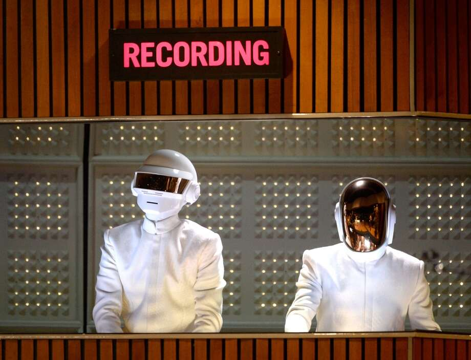 Daft Punk -- Bring the robots to Texas! Photo: Kevork Djansezian, Getty Images