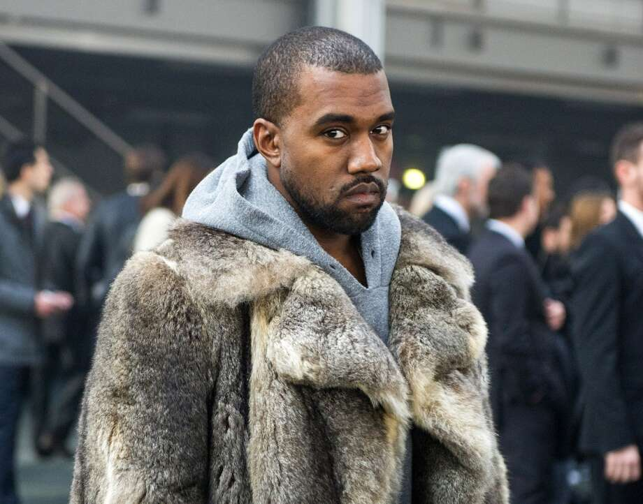 "On ""Guilt Trip,"" Kanye West rapped: ""'Star Wars' fur, yeah, I'm rockin' Chewbacca.""  Photo: Zacharie Scheurer, Associated Press"