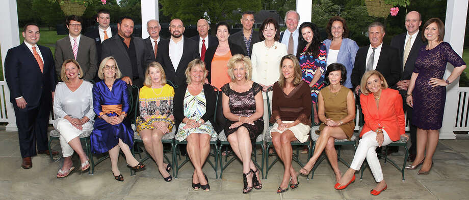 Thirty top-producing real estate agents with William Pitt Sotheby's International Realty were honored at a recent dinner. Photo: Contributed Photo, Contributed / New Canaan News