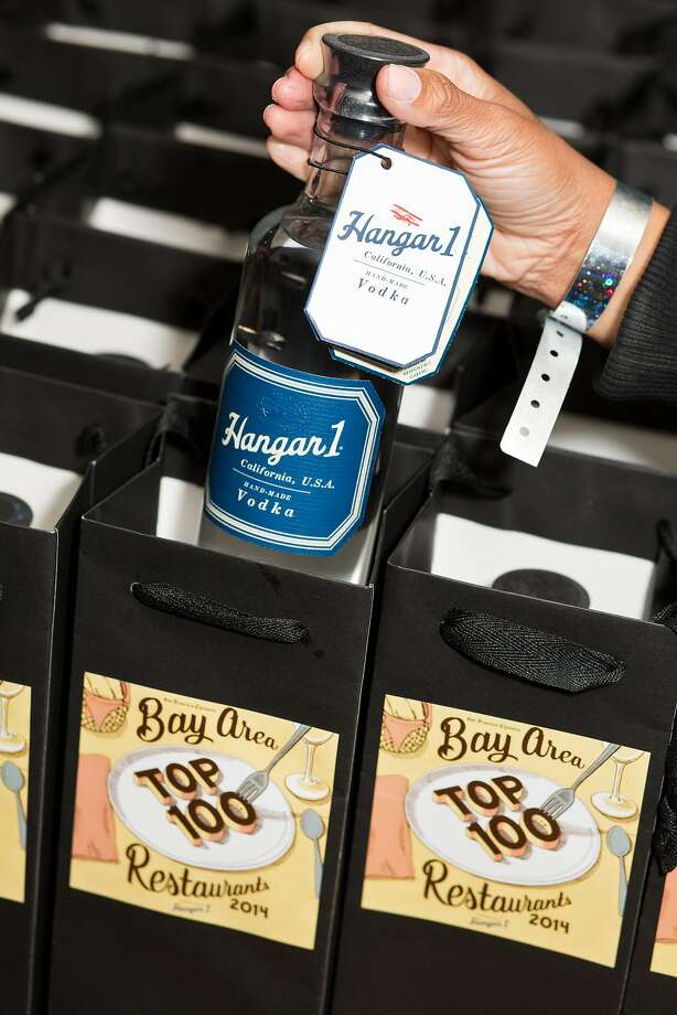 Hangar 1 Vodka was a main sponsor of the San Francisco Chronicle's Top 100 event at Dirty Habit lounge and guests received a gift bag with a Hangar 1 bottle upon leaving in San Francisco, Calif., Monday, June 2, 2014 Photo: Jason Henry, Special To The Chronicle