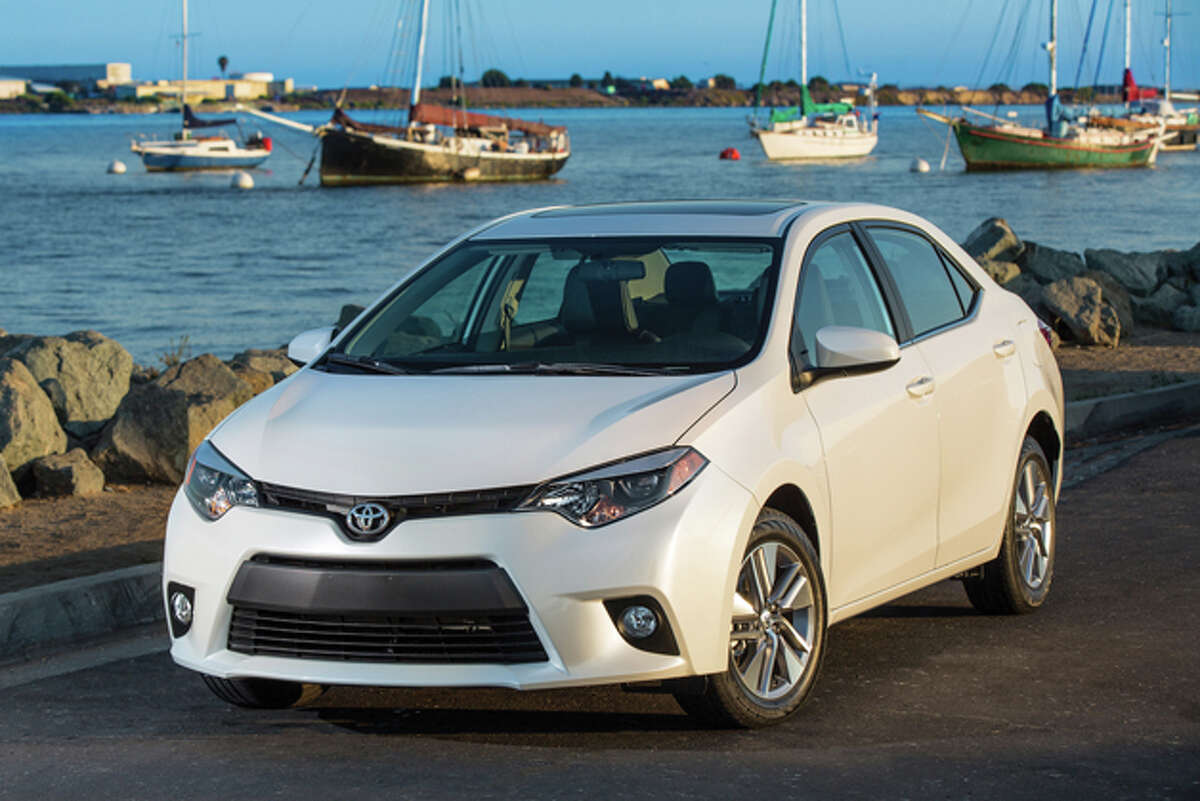 9. Toyota Corolla -- 9,010 total thefts