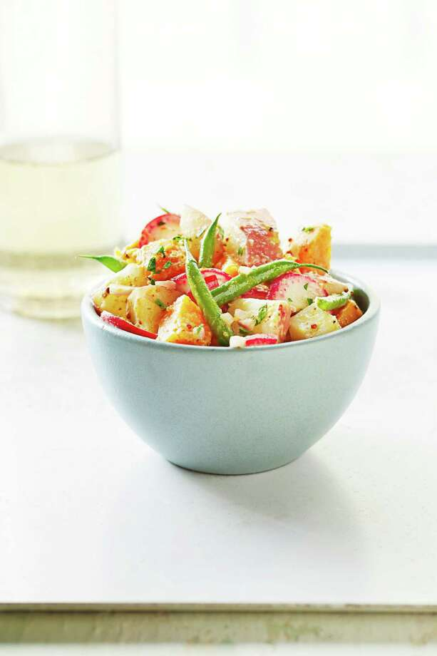 Good Housekeeping recipe for Tangy 2-Potato Salad. Photo: Kate Mathis / ONLINE_YES