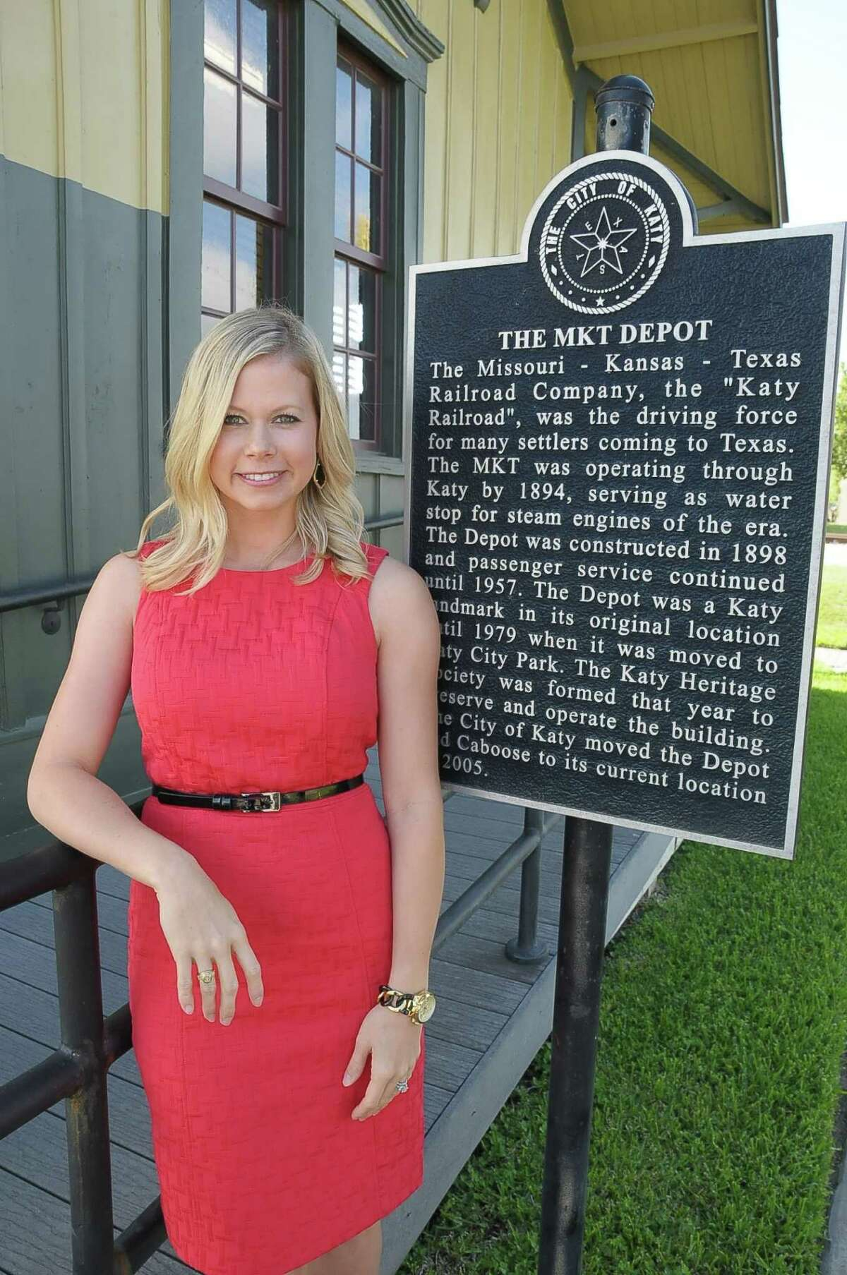 Kayce Reina is Katy's first tourism director.