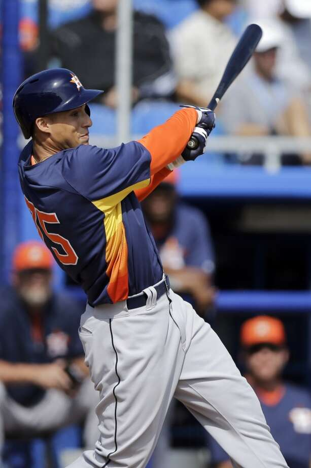 George Springer, the Astros' most major-league ready prospect, has hit 68 homers and drove in 198 runs in his three-year minor-league career. Photo: Matt Slocum, Associated Press