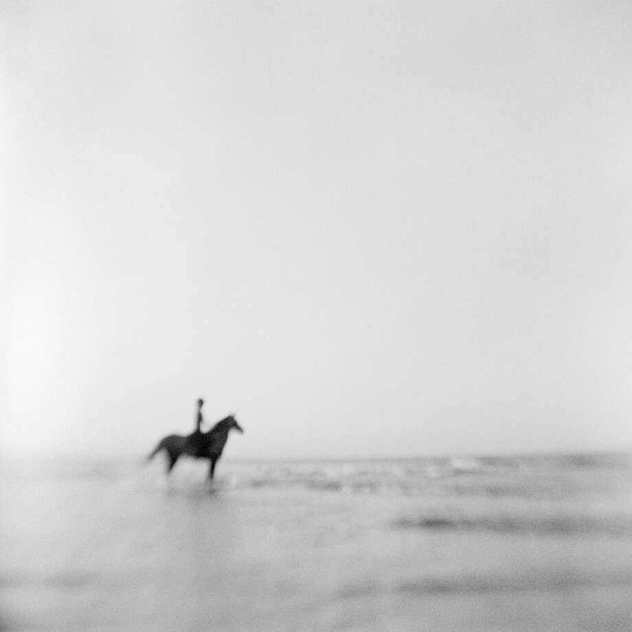 """You Can Lead a Horse to Water,"" a photograph by James Rohan, is part of a new exhibit on view at The Gallery at Still River Editions in Danbury. An opening reception is set for Saturday. Find out more.  Photo: Contributed Photo / The News-Times Contributed"