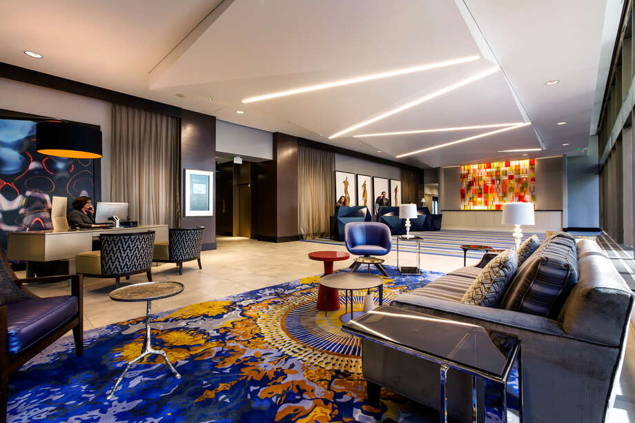 Lobby of Motif Seattle. Photo: Destination Hotels & Resorts