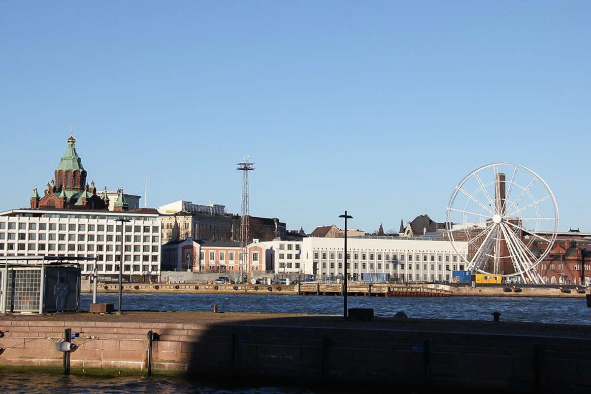 The Finnair SkyWheel, in Helsinki, opened on Tuesday, June 3, 2014.