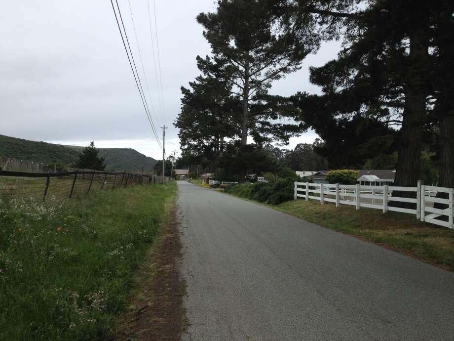 The Bike Hut's tranquil neighborhood on Tunitas Creek Road. Photo: Brian Coyne.