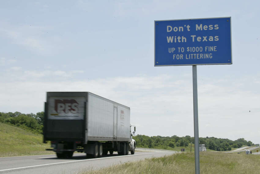 For nearly 30 years, the the Texas Department of Transportation's award-winning anti-trash ads have been playing in the Lone Star State. Click ahead to see some of the famous folks who have reminded Texans not to litter over the years. Source: Don't Mess with Texas website