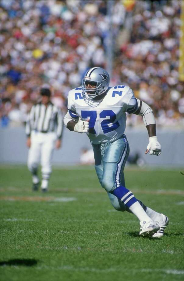"Dallas Cowboys defensive lineman Ed ""Too Tall"" Jones Photo: Jonathan Daniel, Getty Images / Getty Images North America"