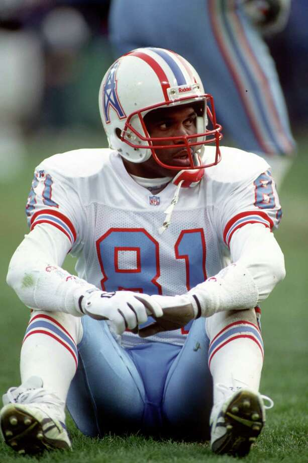 Houston Oilers wide receiver Ernest Givins Photo: George Gojkovich, Getty Images / 1994 George Gojkovich