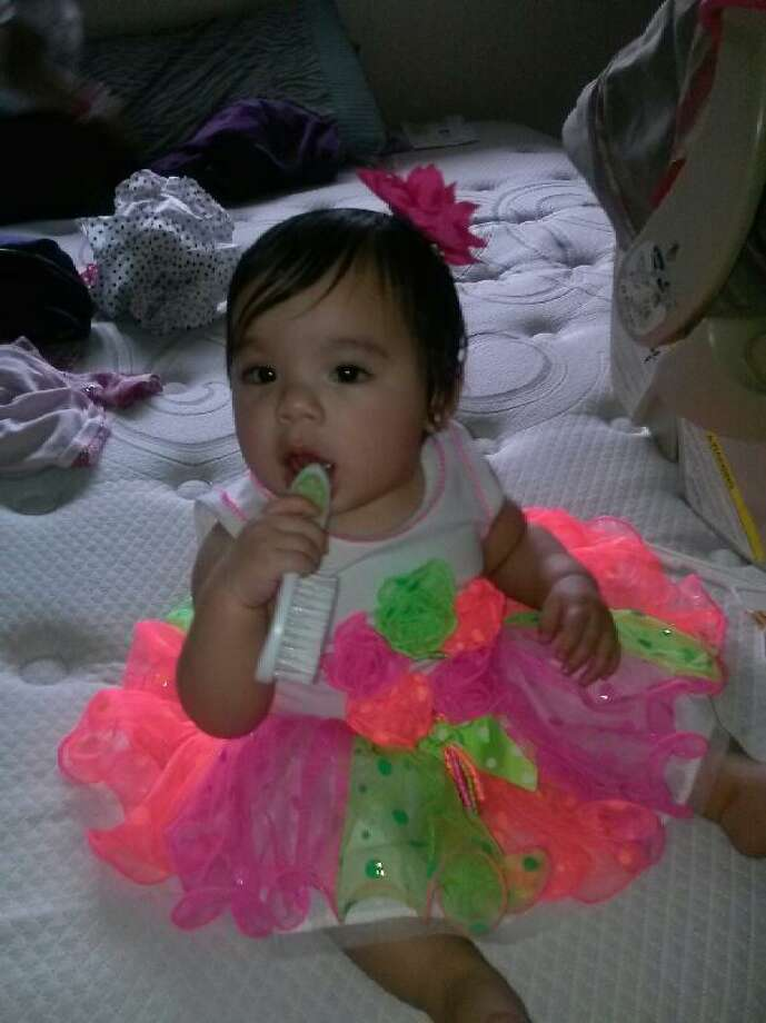 RubI Duncan, 11-months-old, died Monday night she was found face-down in a bathtub at a Northeast Side apartment. Photo: Courtesy Photo.