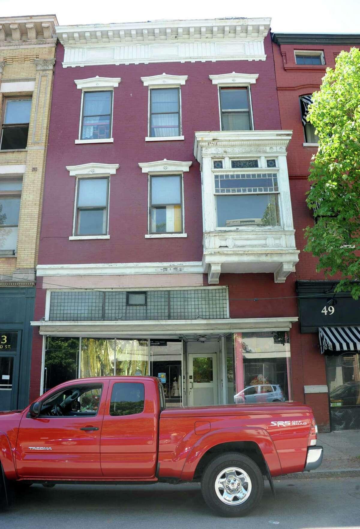 Building at 51 Third St. on Monday, June 2, 2014 in Troy, N.Y. (Lori Van Buren / Times Union)