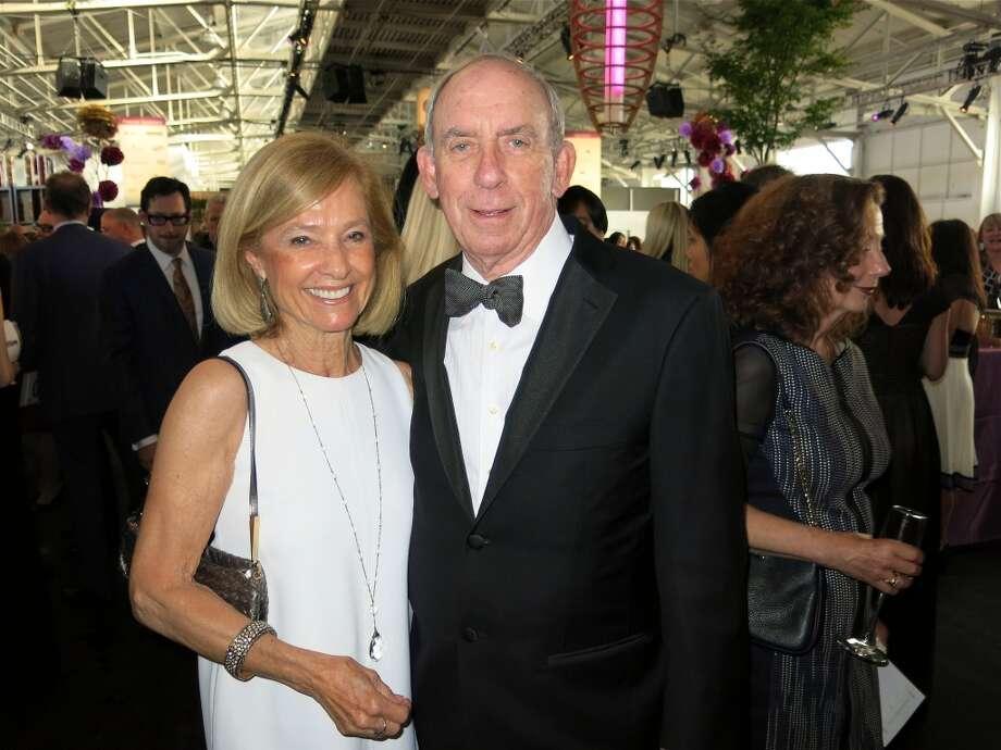 Maureen Sullivan and her husband, MOW trustee Craig Sullivan Photo: Catherine Bigelow