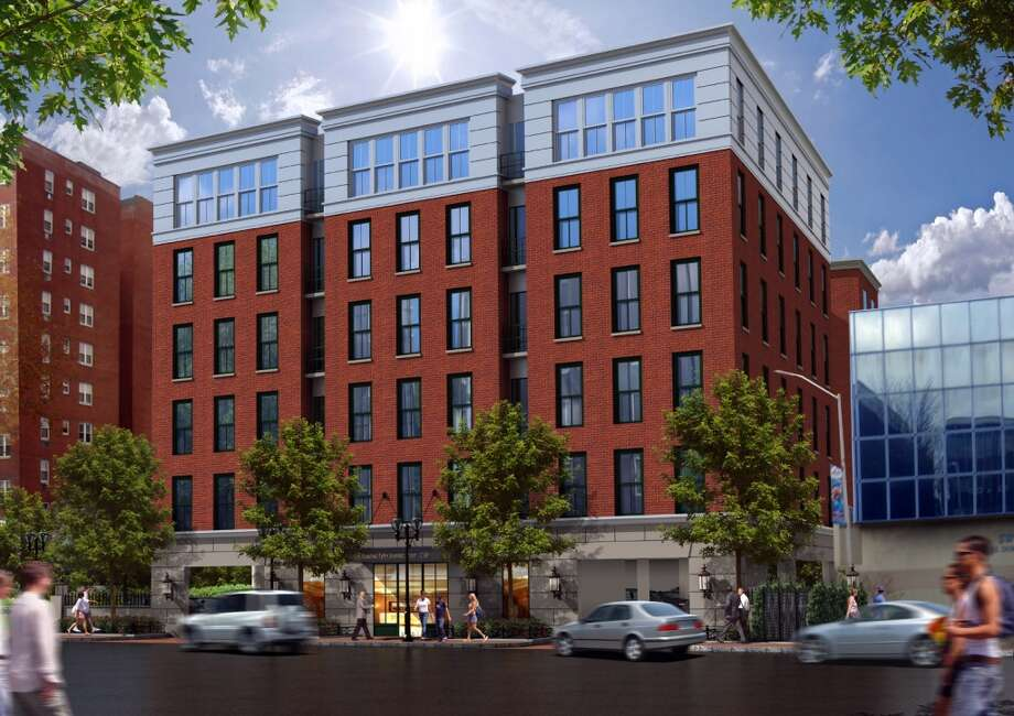 No. 1: Stamford has issued building permits for an average of 251 apartments in buildings with at least five units between 2003 and 2013. Its statewide ranking is No. 1. Photo: Contributed Photo