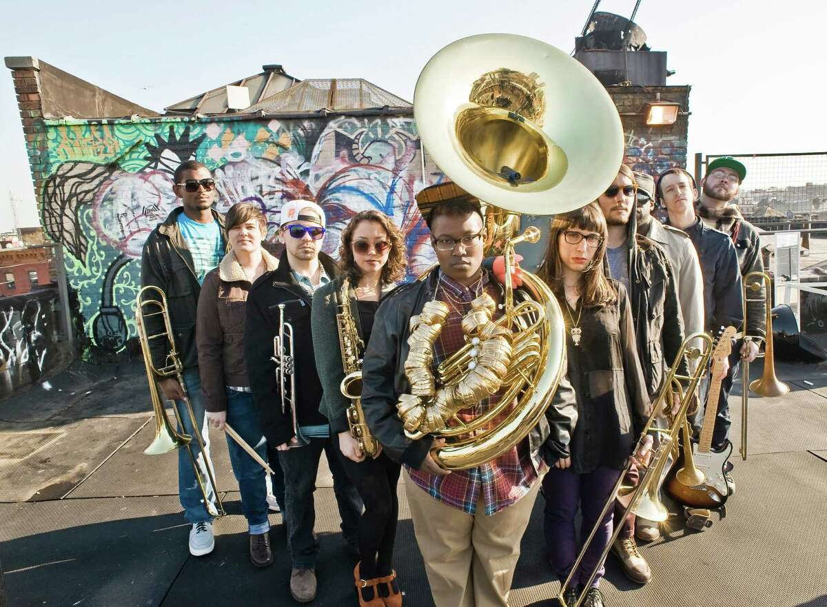 PitchBlak Brass Band, headliners for Freedom Festival ?14!