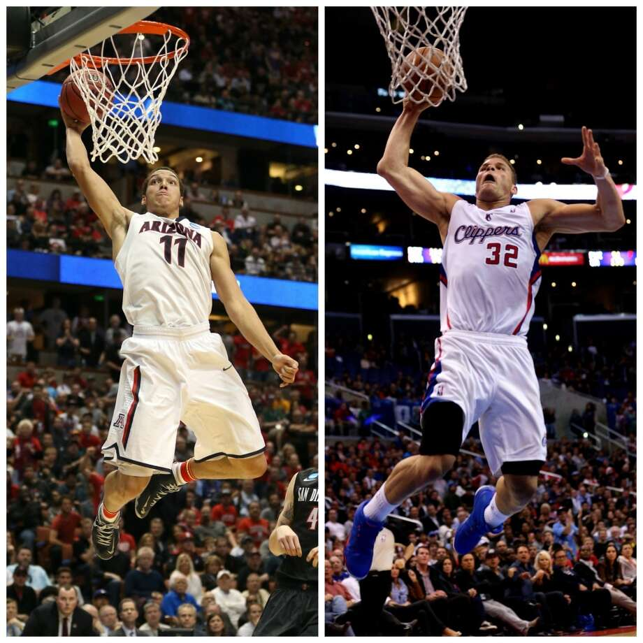 Aaron Gordon 6-9, 225, Arizona power forward NBA comparison: Blake Griffin  A high energy player with a great motor, Gordon is not as physical as Griffin was and might not develop offensively the way Griffin has, but coming out of school, there could be similarities, at least above the rim. Photo: Getty Images