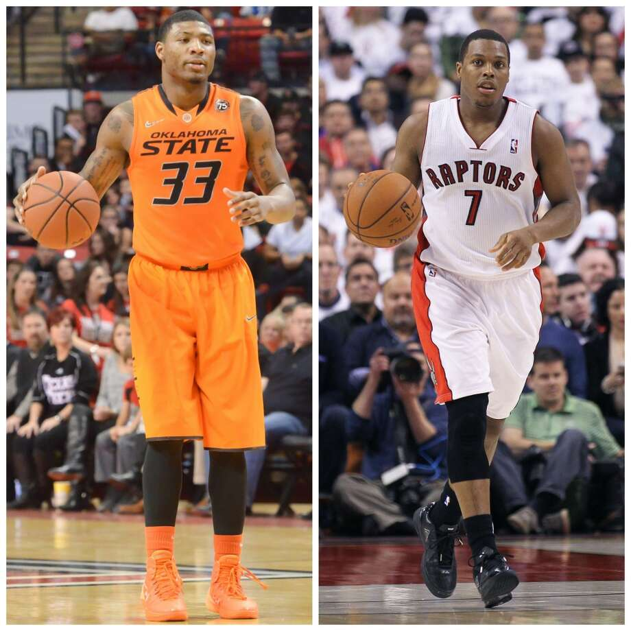 Marcus Smart 6-4, 220, Oklahoma State guard NBA comparison: Kyle Lowry  Smart is longer and a bit more springy, but he could be similar to Lowry as a guy that will battle defensively, force turnovers, rebound and attack the basket. Lowry's shooting range developed later. Smart's might, too. Photo: Getty Images