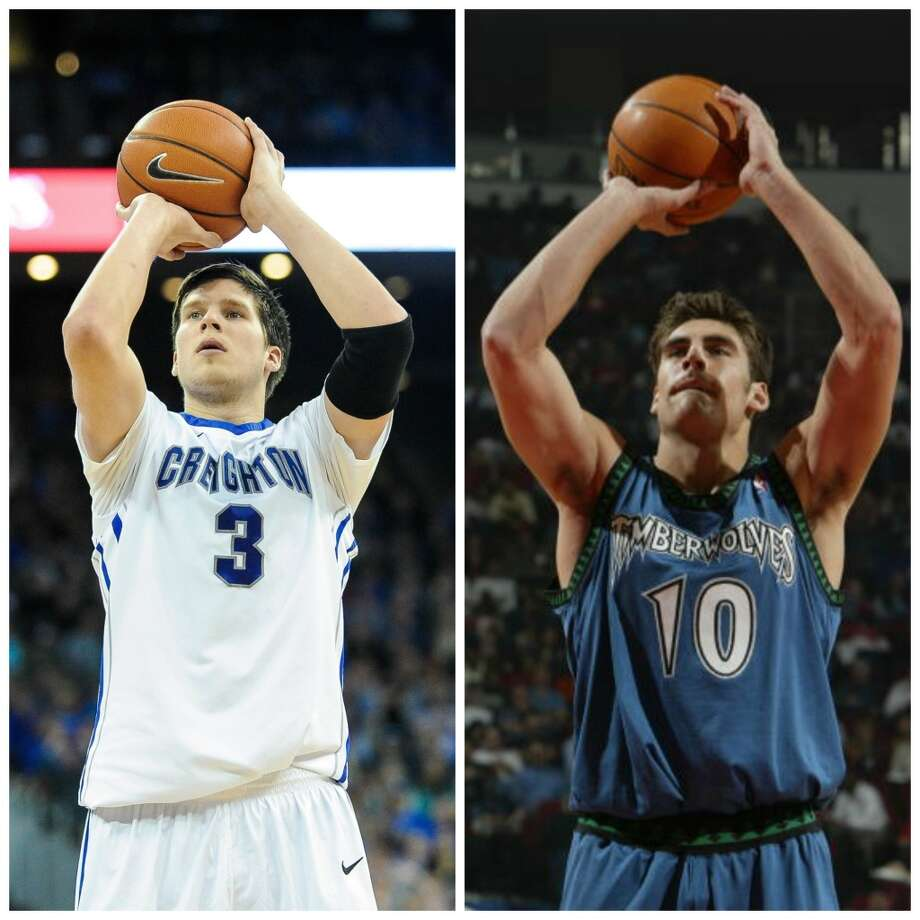 Doug McDermott 6-8, 225, Creighton forward NBA comparison: Wally Szczerbiak   A prolific scorer, McDermott comes out of Creighton, like Szczerbiak coming out of Miami of Ohio, with a more well-rounded game as a perimeter scorer than just being a catch-and-shoot option at the 3-point line. Photo: Getty Images