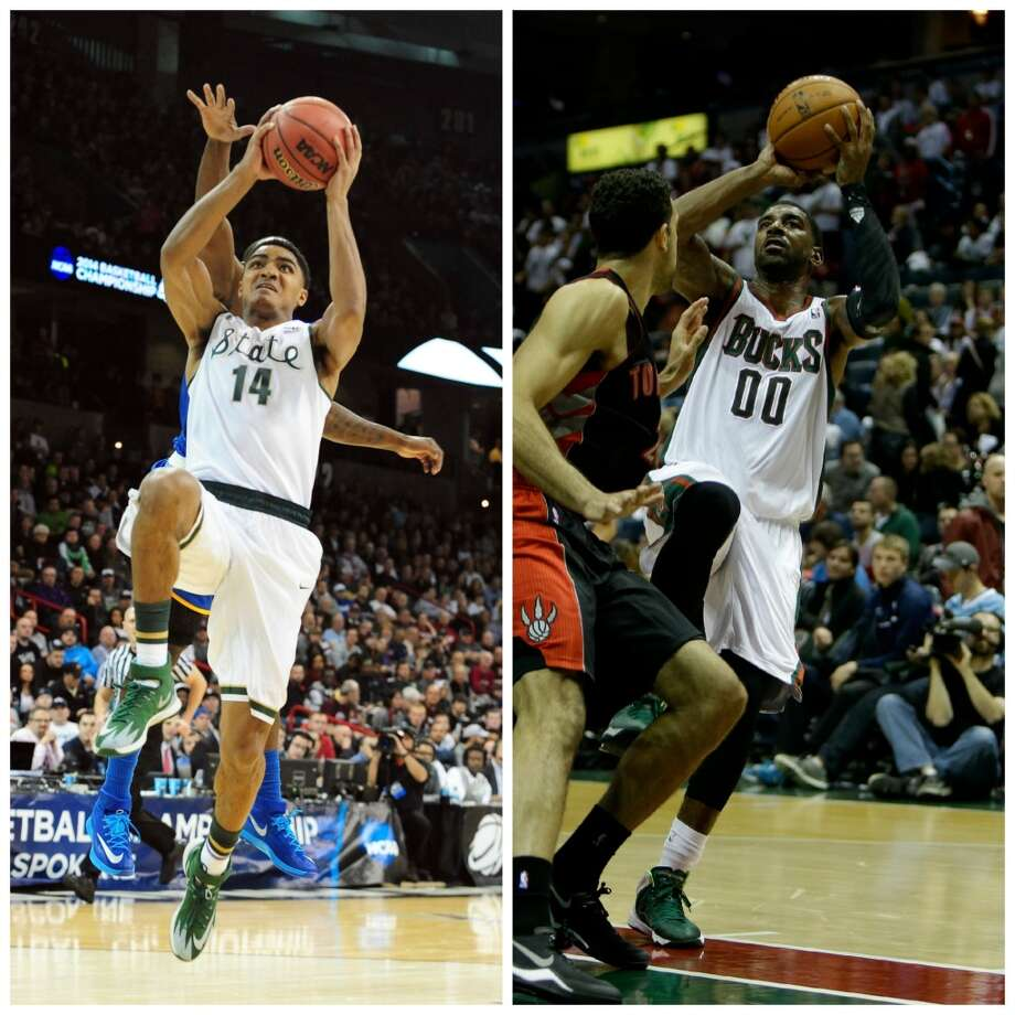 Gary Harris 6-4, 210, Michigan State guard NBA comparison: O.J. Mayo  Like Mayo at USC, Harris has always looked the part. He is also a versatile offensive player and though he seems more defensive-oriented, so was Mayo when he first reached the NBA. Photo: Getty Images