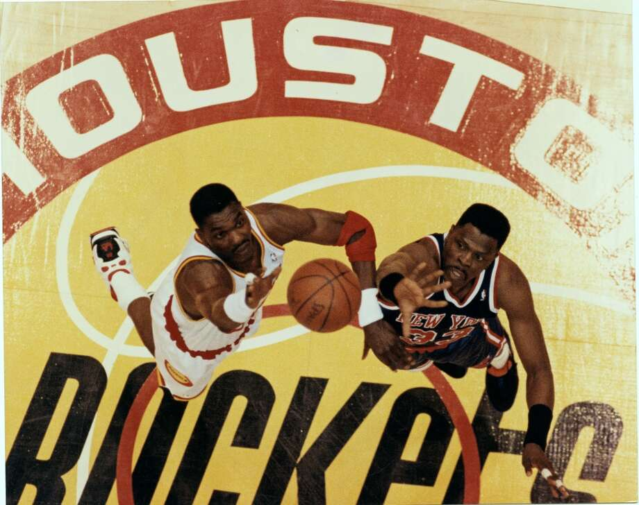 The 1994 NBA Finals pitted Hakeem Olajuwon and the Rockets against Patrick Ewing and the New York Knicks. Here's a game-by-game look back at the seven-game championship series. Photo: Robert Seale, Houston Chronicle