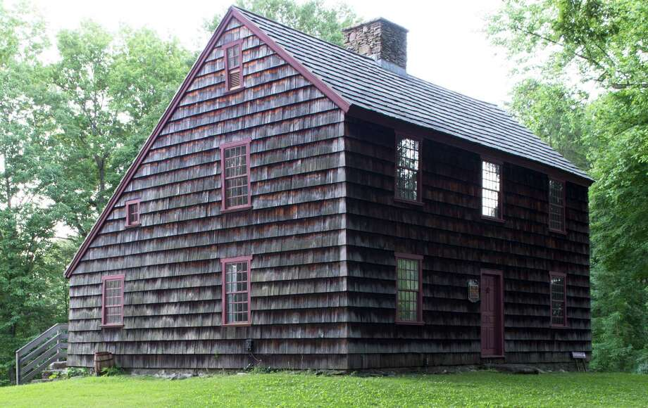 The Ogden House on Bronson Road is open for the season, offering visitors docent-led tours of the colonial homestead. Photo: Contributed Photo / Fairfield Citizen
