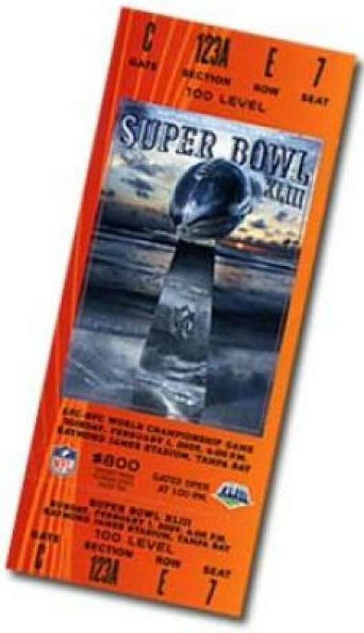 Super Bowl XLII Date: Feb. 3, 2008 Location: University of Phoenix Stadium, Glendale, Ariz. Result: New York Giants 17, New England 14 Price: $900, $700 Photo: Photo By NFL