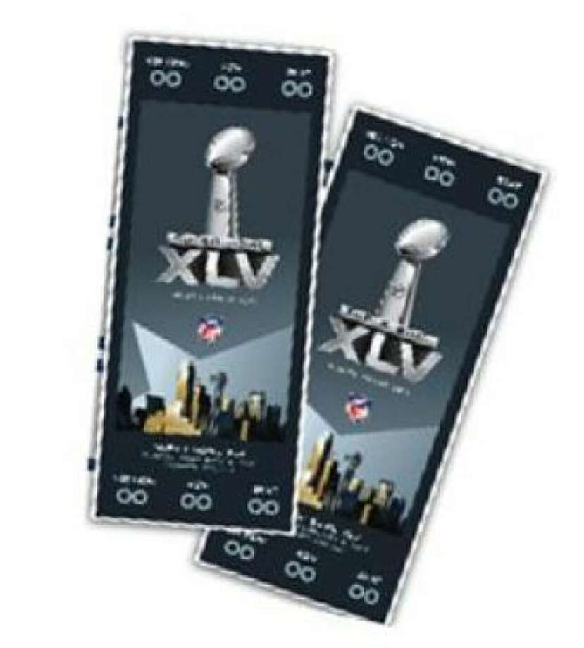 Super Bowl XLV Date: Feb. 6, 2011 Location: Cowboys Stadium, Arlington Result: Green Bay 31, Pittsburgh 25 Price: $1,500, $3,000, $7,000 Photo: Photo By AP