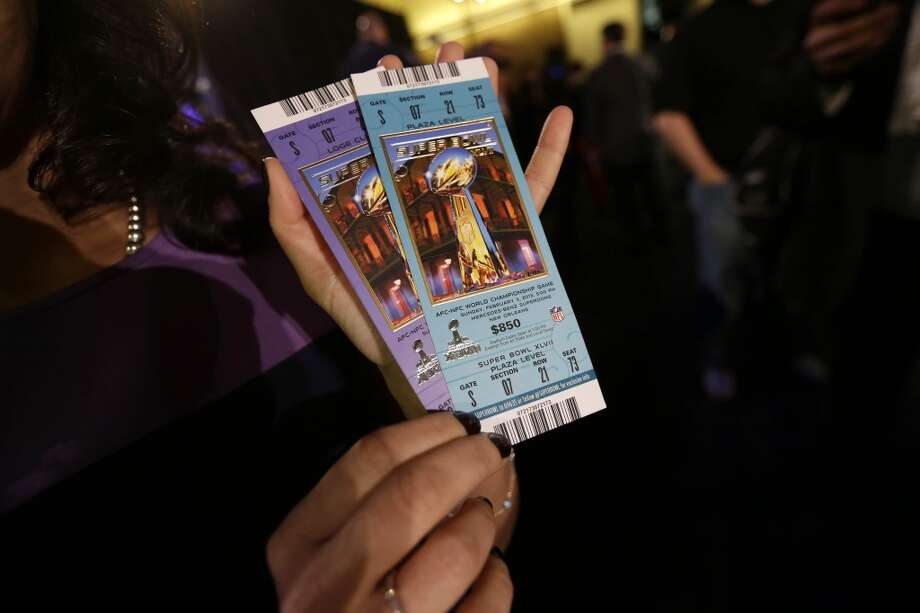 Super Bowl XLVII Date: Feb. 3, 2013 Location: Superdome, New Orleans Result: Baltimore 34, San Francisco 31 Price: $850-$1,250 Photo: Gerald Herbert, Associated Press