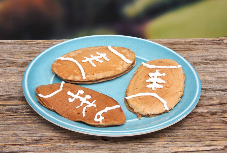 Father's Day is just around the corner, and this year I pulled together a few recipes for the sports enthusiasts. This recipe for No Pass Pancakes is the perfect combination of good flavor and fun that kids will enjoy making for dad to kick off his special day. (Jodie Fitz)