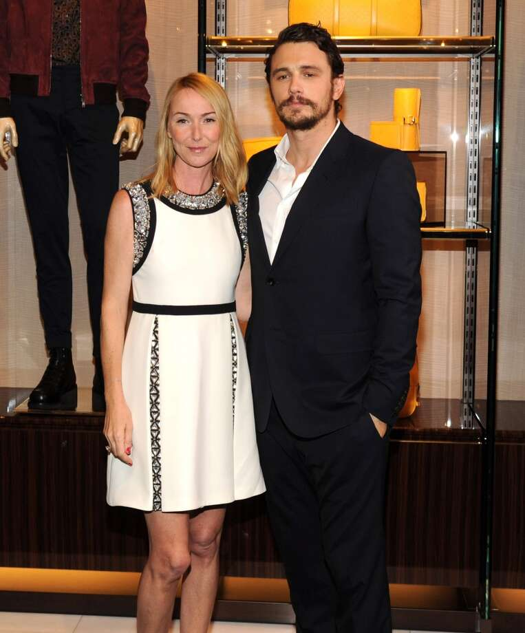 Gucci Creative Director Frida Giannini and James Franco attend the CHIME FOR CHANGE One-Year Anniversary Event hosted by Gucci Creative Director Frida Giannini and T Magazine Editor-In-Chief Deborah Needleman at Gucci Fifth Avenue on June 3, 2014 in New York City. Photo: Kevin Mazur /Chime For Change/Ge, Getty Images For Gucci