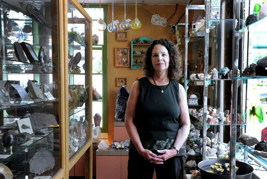Leslie Gera is the owner of Mother Earth Gallery located near the Four Corners in Brookfield, Conn. Wednesday, June 4, 2014 Photo: Carol Kaliff / The News-Times