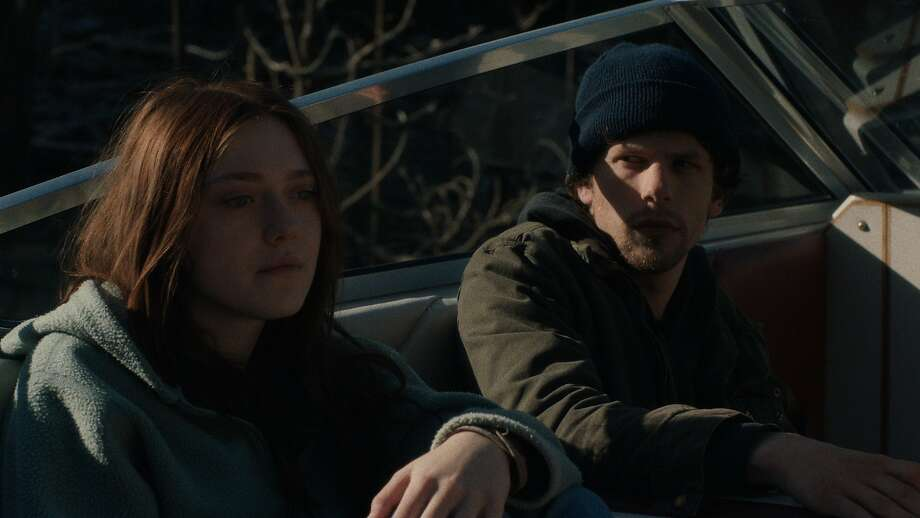 "Dena (Dakota Fanning) and Josh (Jesse Eisenberg) are ecoterrorists who plot to blow up a dam in ""Night Moves."" Photo: Tipping Point Productions, Cinedigm"