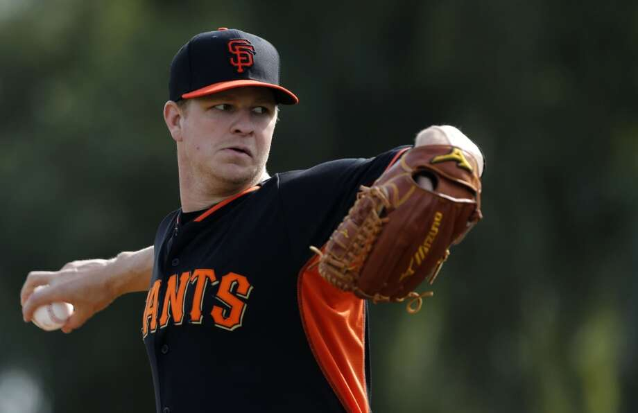 4. Matt Cain, P, 2002 Photo: Michael Macor, The Chronicle