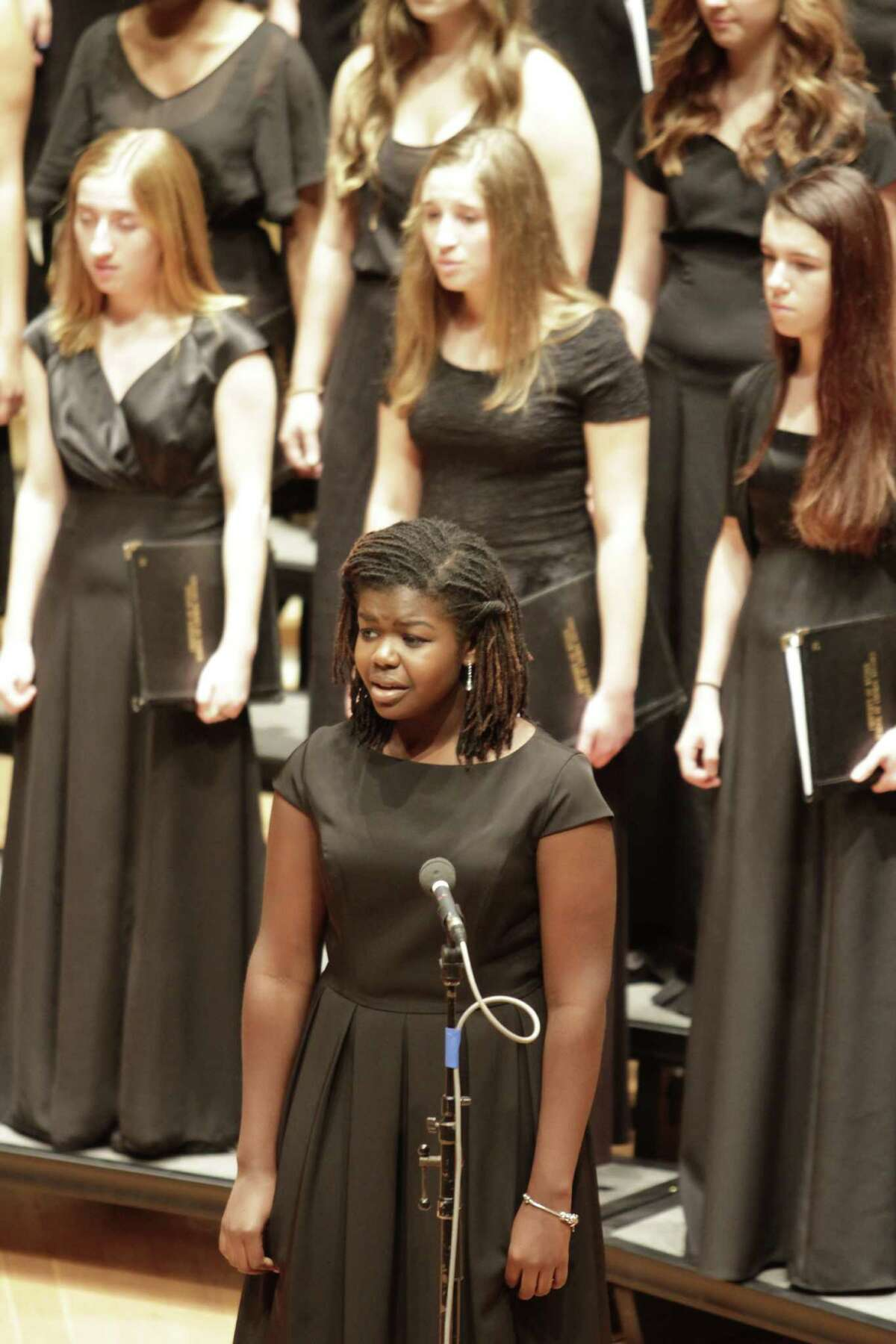 New York State Summer School of the Arts choral studies students perform at SUNY Fredonia. (NYSSSA)