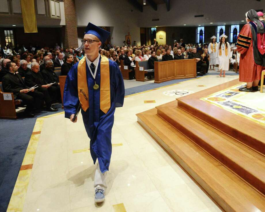 Photos from the Immaculate High School 2014 Graduation Ceremony at Church of St. Mary in Bethel, Conn. Wednesday, June 4, 2014. Photo: Tyler Sizemore / The News-Times
