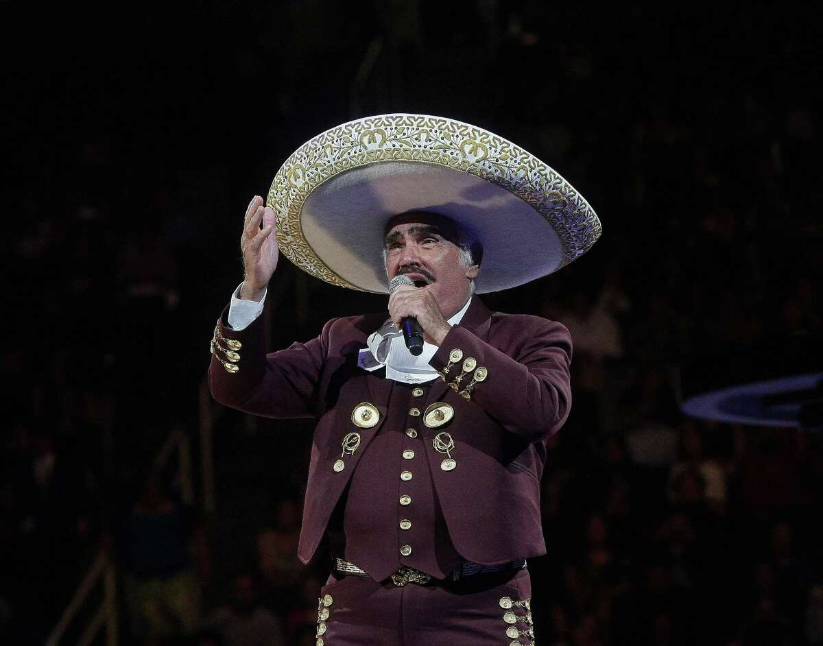 Mexican musician Vicente Fernandez's singing career spans nearly five decades. Here's a look back at the lifetime of this Latino legend. PHOTO: Fernandez performs at HP Pavilion in San Jose, Calif., on April 14, 2013.