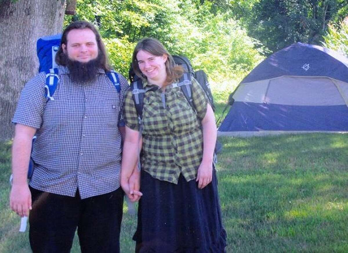 This undated handout photo provided by the Coleman family shows Caitlan Coleman and Joshua Boyle. The family of a then-pregnant American woman who went missing in Afghanistan in late 2012 with her Canadian husband received two videos last year in which the couple asked the U.S. government to help free them from their Taliban captors, The Associated Press has learned. The videos offer the first and only clue about what happened to Caitlan Coleman and Joshua Boyle after they lost touch with their family 20 months ago while traveling in a mountainous region near the capital, Kabul. U.S. law enforcement officials investigating the couple?'s disappearance consider the videos authentic but caution that they hold limited investigative value, since it?'s not clear when or where they were filmed. (AP Photo/Coleman Family) ORG XMIT: WX204