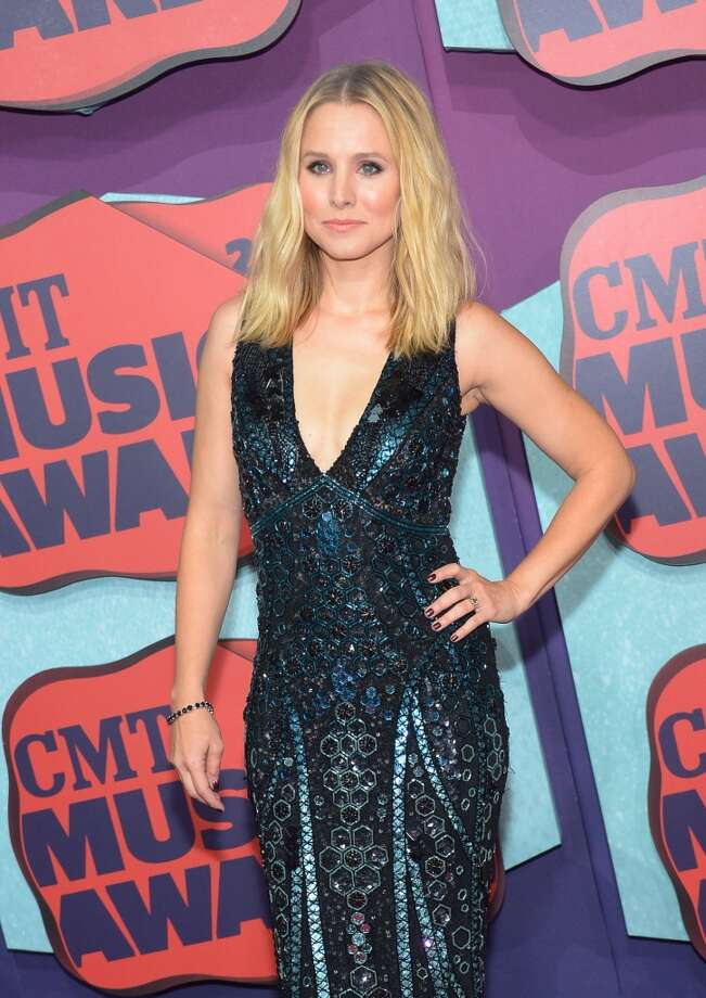 Actress Kristen Bell attends the 2014 CMT Music awards at the Bridgestone Arena on June 4, 2014 in Nashville, Tennessee. Photo: Michael Loccisano, Getty Images