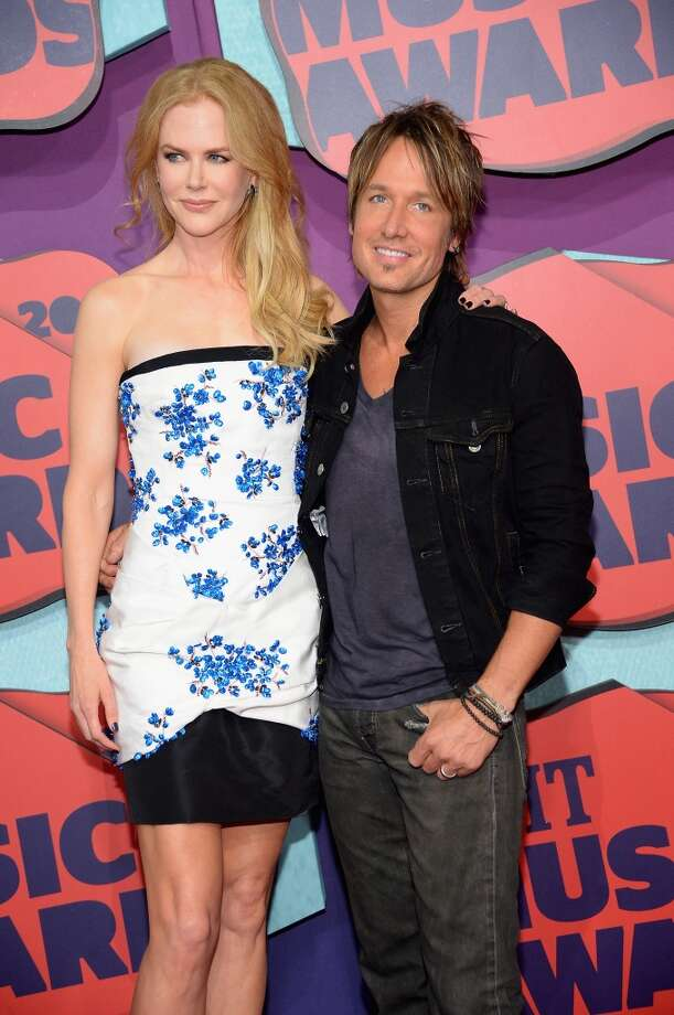 Actress Nicole Kidman and Keith Urban attend the 2014 CMT Music awards at the Bridgestone Arena on June 4, 2014 in Nashville, Tennessee. Photo: Michael Loccisano, Getty Images
