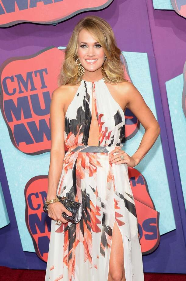 Carrie Underwood attends the 2014 CMT Music awards at the Bridgestone Arena on June 4, 2014 in Nashville, Tennessee. Photo: Michael Loccisano, Getty Images