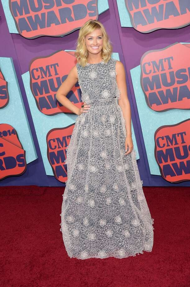 Beth Behrs attends the 2014 CMT Music awards at the Bridgestone Arena on June 4, 2014 in Nashville, Tennessee. Photo: Michael Loccisano, Getty Images