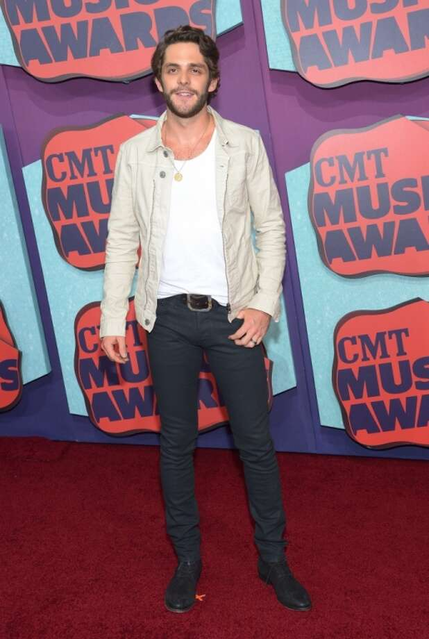 Thomas Rhett attends the 2014 CMT Music awards at the Bridgestone Arena on June 4, 2014 in Nashville, Tennessee. Photo: Michael Loccisano, Getty Images