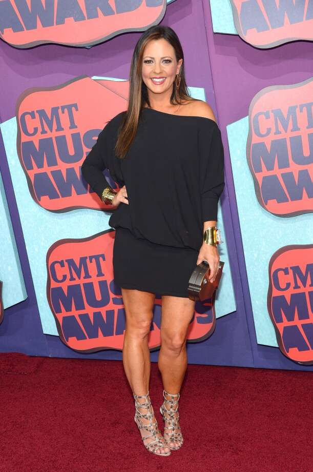 Sara Evans attends the 2014 CMT Music awards at the Bridgestone Arena on June 4, 2014 in Nashville, Tennessee. Photo: Michael Loccisano, Getty Images